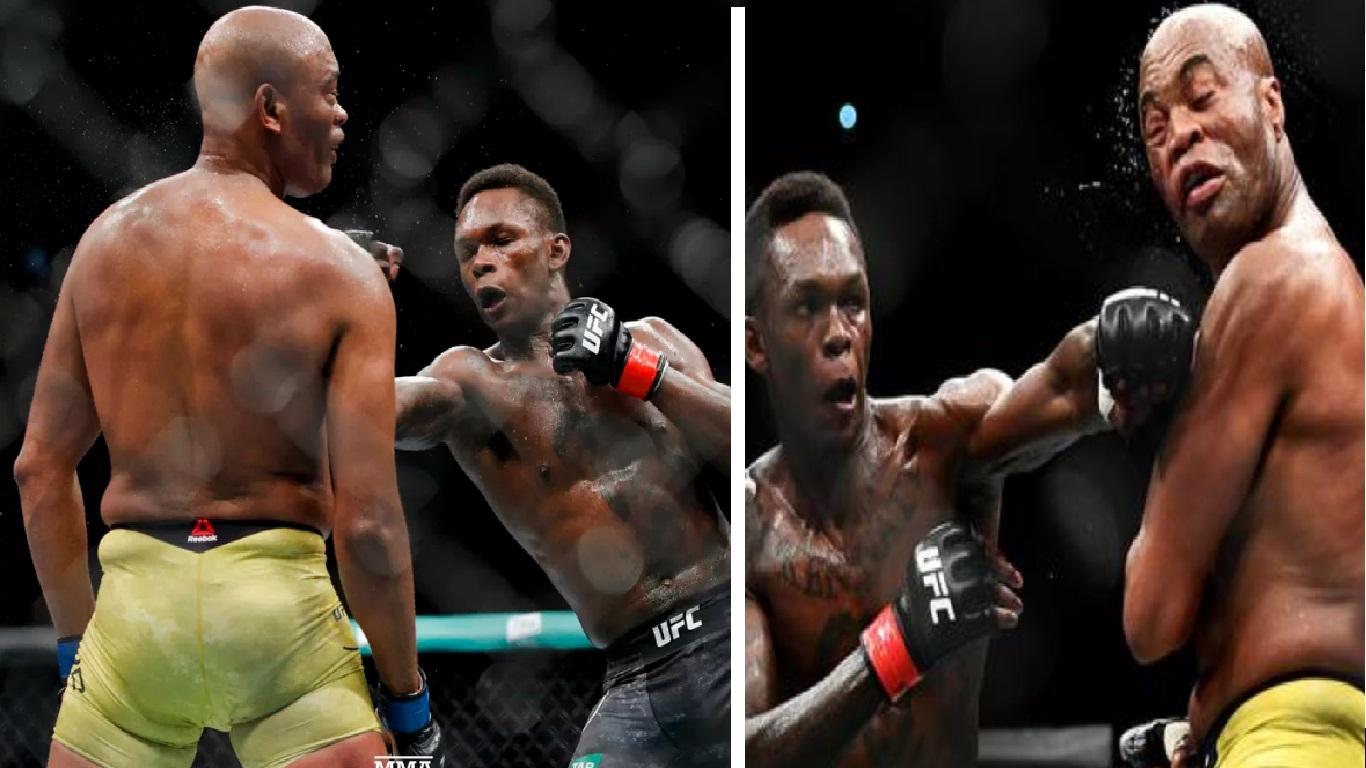 Vídeo luta Anderson Silva vs Adesanya - Foto/Divulgação