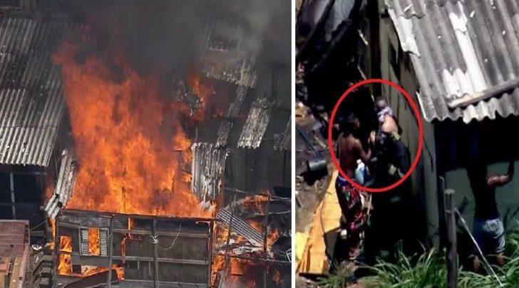 Tragédia atinge favela paulista e comove - Foto/Divulgação