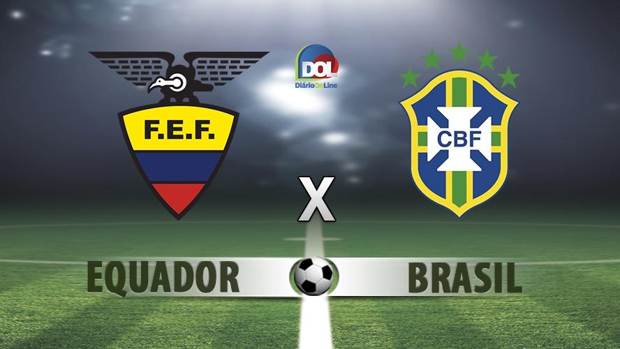 Equador x Brasil ao vivo - Foto/Divulgação