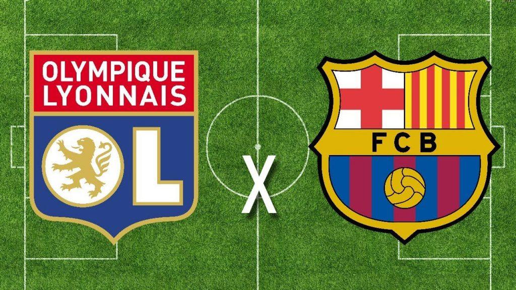 Lyon x Barcelona ao vivo - Foto/Divulgação