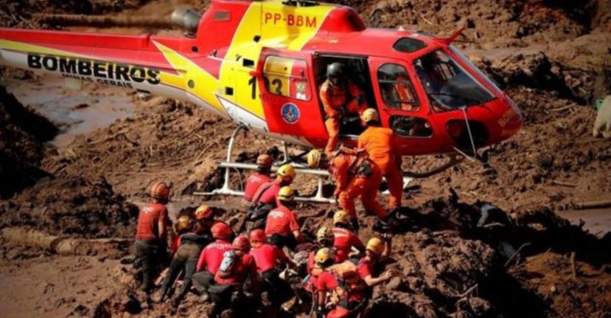 Sobreviventes são encontrados em Brumadinho - Foto/Divulgação