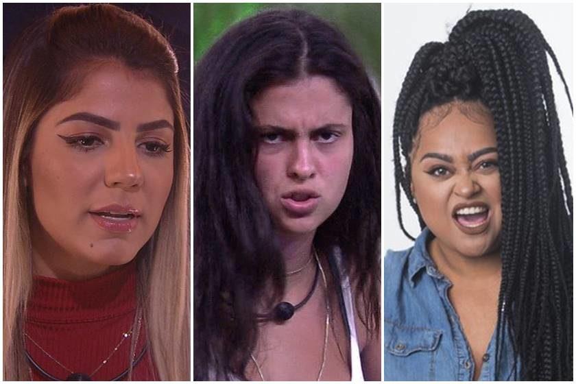 Hana, Rízia ou Hariany disputam a preferência do público no Big Brother 2019 - Foto/Divulgação