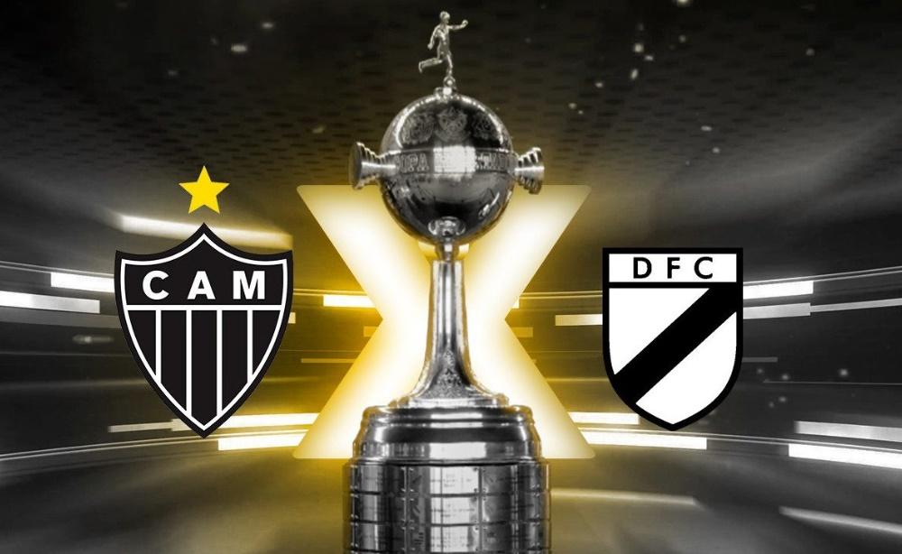 Atlético-MG x Danubio ao vivo - Foto/Divulgação