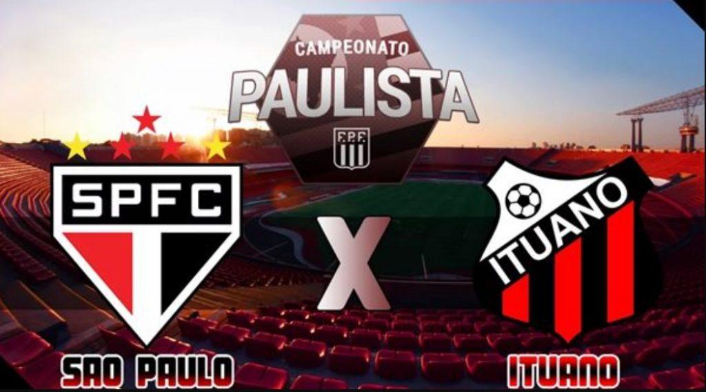 São Paulo x Ituano ao vivo - Foto/Divulgação