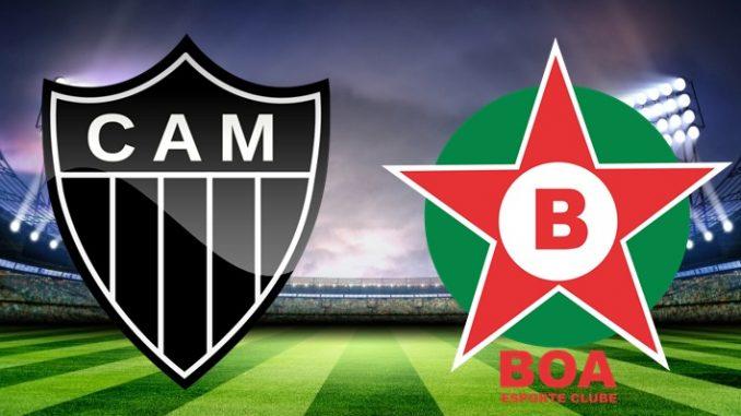 Atlético-MG x Boa Esporte ao vivo - Foto/Divulgação