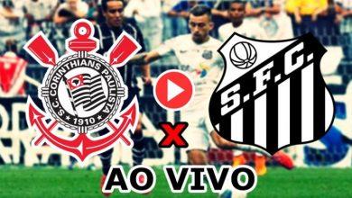 Corinthians x Santos ao vivo -Foto/Divulgação