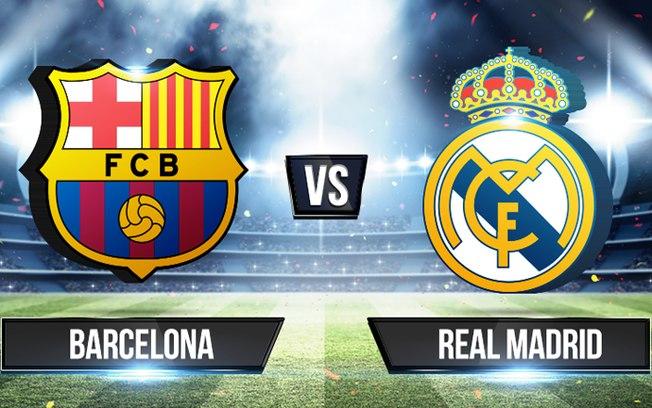 Real Madrid x Barcelona ao vivo - Foto/Divulgação