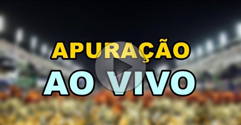 Apuração do Carnaval ao vivo do Rio de Janeiro - Foto/Divulgação