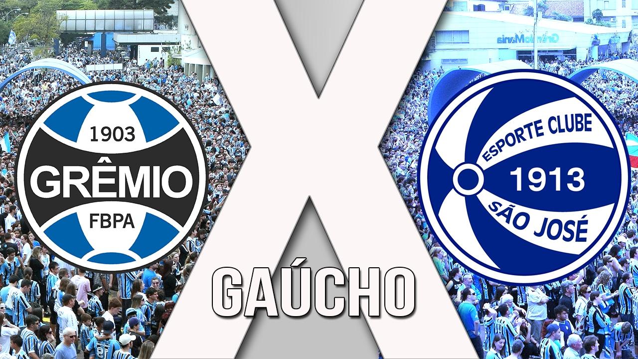 Grêmio x São José ao vivo - Foto/Divulgação