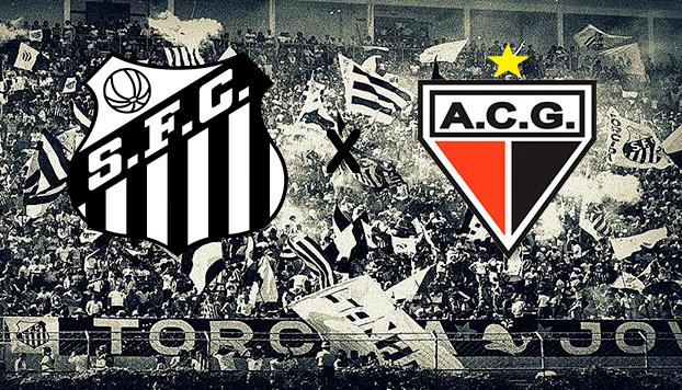 Santos x Atlético-GO ao vivo - Foto/Divulgação