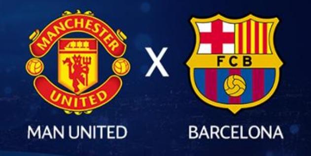 Manchester United x Barcelona ao vivo - Foto/Divulgação