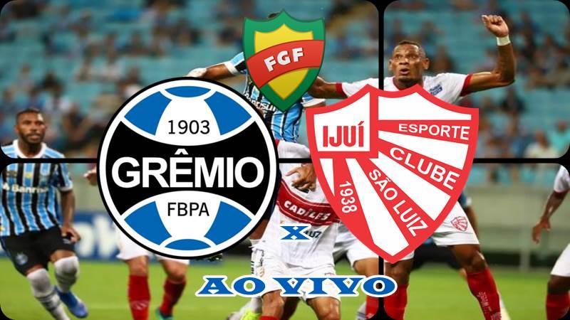 Grêmio x São Luiz ao vivo - Foto/Divulgação