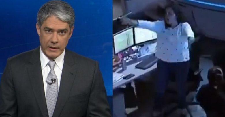 Falha do Jornal Nacional exibe truque secreto - Foto/Divulgação