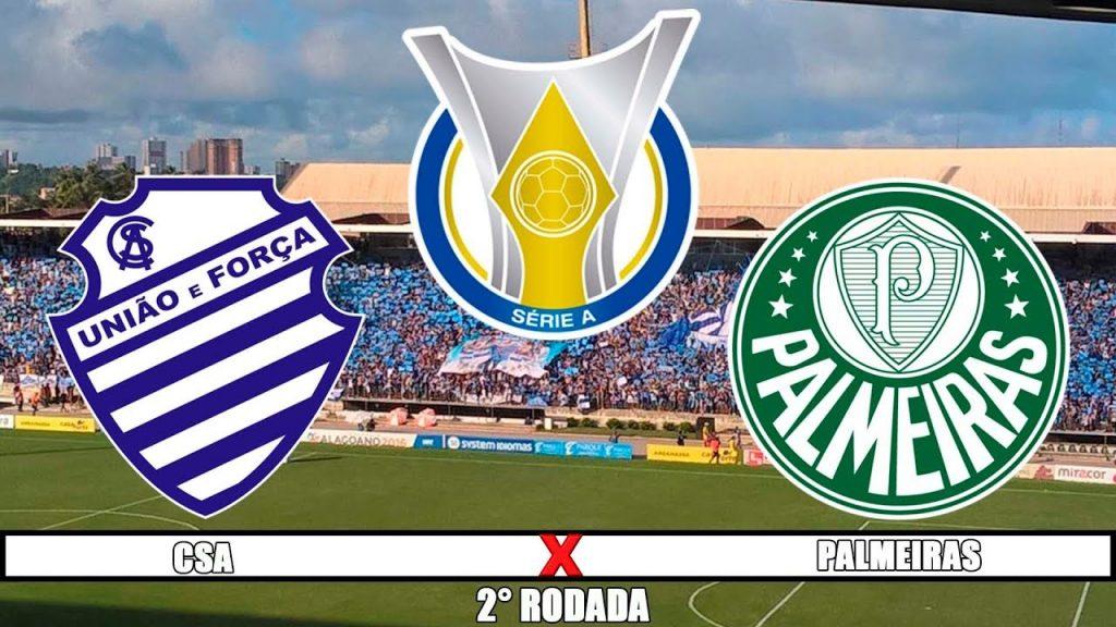 CSA x Palmeiras ao vivo - Foto/Divulgação