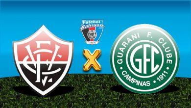 Vitória x Guarani ao vivo - Foto/Divulgação