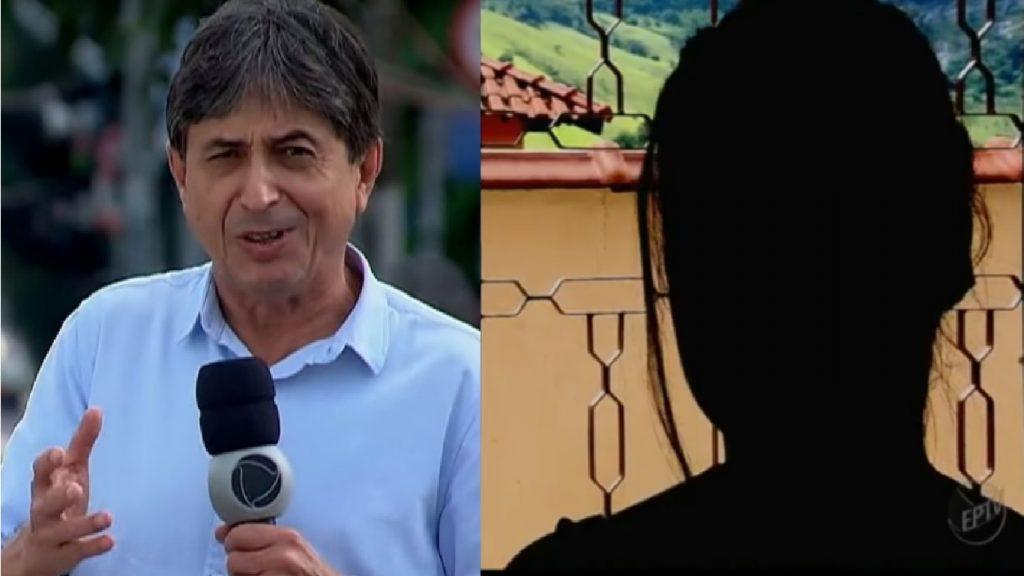 Repórter Record sofre acusações - Foto/Divulgação