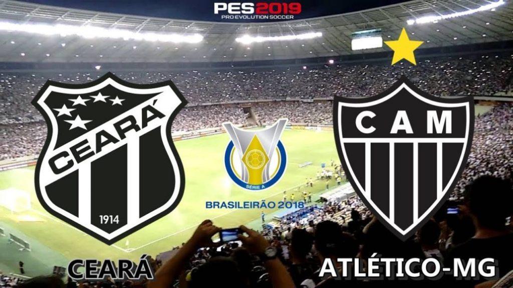 Ceará x Atlético-MG ao vivo - Foto/Divulgação