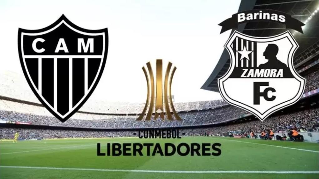 Atlético-MG x Zamora ao vivo - Foto/Divulgação