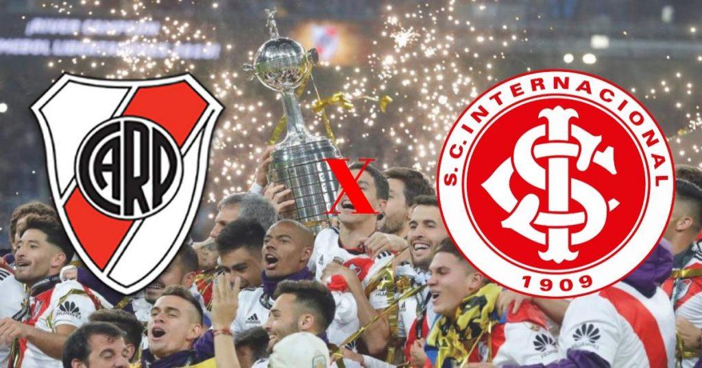 River Plate x Internacional ao vivo - Foto/Divulgação