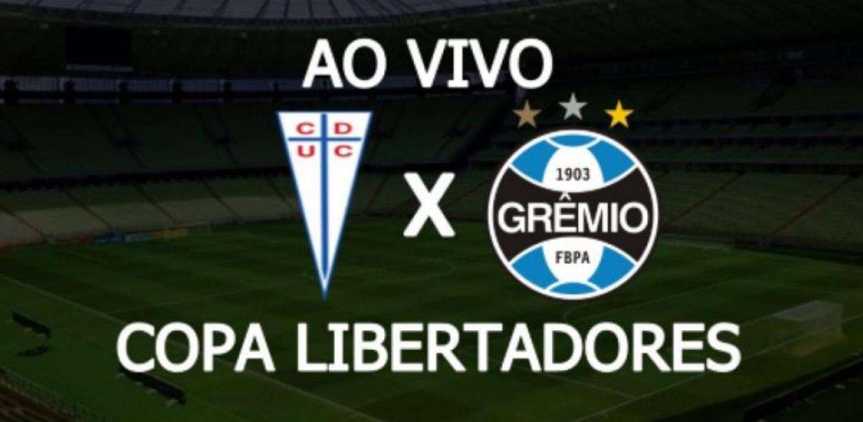 Grêmio x Universidad Católica ao vivo